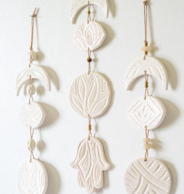 clay wall hanging online workshop