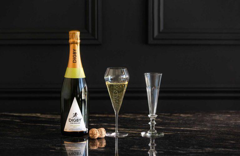 English sparkling wine tasting